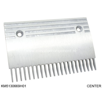 Aluminum Comb for KONE Escalators KM5130669H01